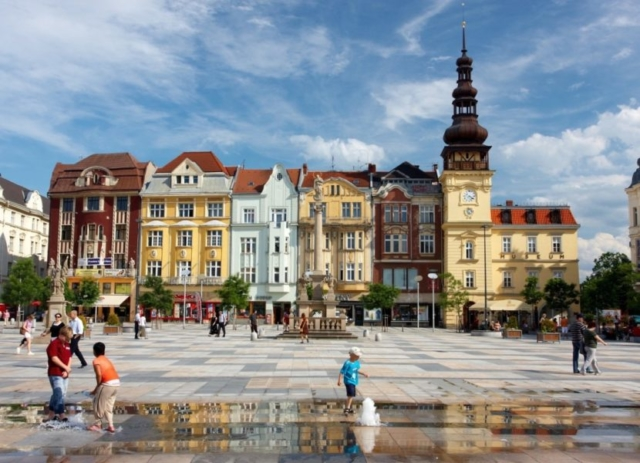 Masarykovo náměstí v Ostravě